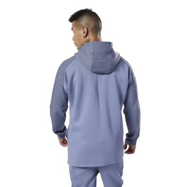Männer Fitness & Training Training Supply Hoodie Lila