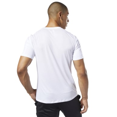 WOR COMM SS TECH TOP Blanco Hombre Fitness & Training