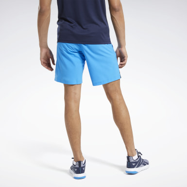 Short Workout Ready Blu Uomo Fitness & Training