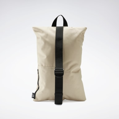 Fitness & Training Beige Cross-Shoulder Bag