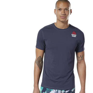 Camiseta Reebok CrossFit® Games ACTIVCHILL + Cotton