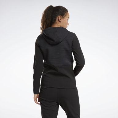 черный Худи Thermowarm Deltapeak Full-Zip