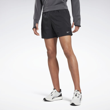 "Shorts Run Essentials 5"" Negro Hombre Correr"
