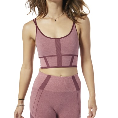 Bra Nature X Low-Impact Seamless Rosa Donna Yoga