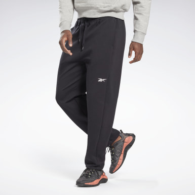 Men Fitness & Training Black DreamBlend Cotton Track Pants
