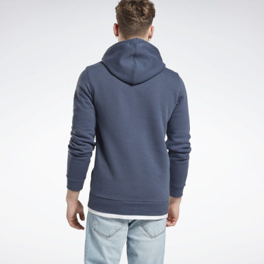 Men Fitness & Training Blue UFC FG Hoodie