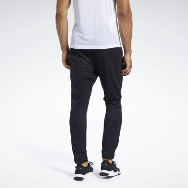 Men Studio Black Workout Ready Track Pant