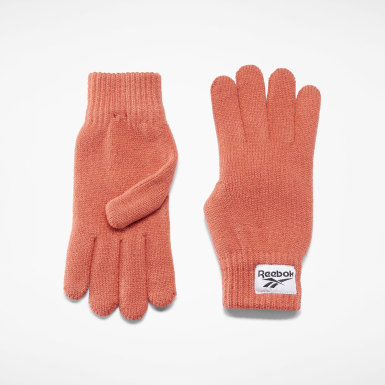 Classics Orange Classics Foundation Label Gloves