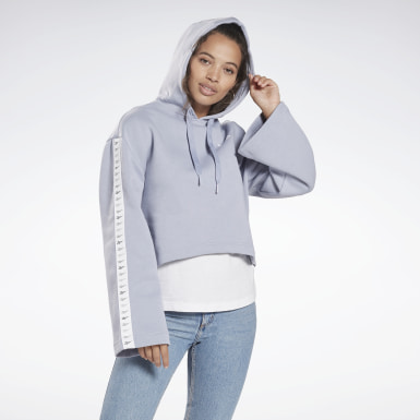 Dames Classics Paars Classic Vector Hoodie