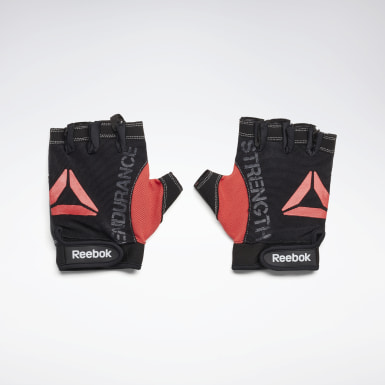 Fitness & Training Black Strength Glove - Grey M