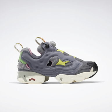 Classics Grey Tom and Jerry Instapump Fury OG Shoes