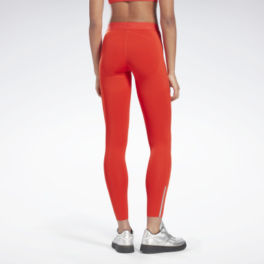 Legging Performance VB Rouge Femmes Fitness & Training