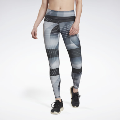 Women Trail Running Black Running Lux Bold Tights