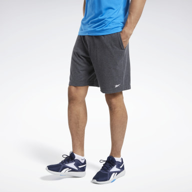 Shorts Training Essentials Grigio Uomo Fitness & Training
