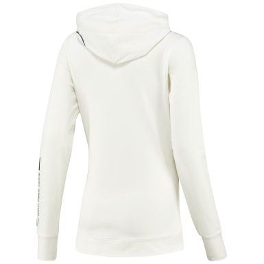Women Fitness & Training White UFC Fight Night Blank Walkout Hoodie