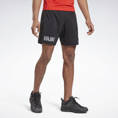 Men Trail Running Black Run Essentials 7-Inch Run Fast Shorts