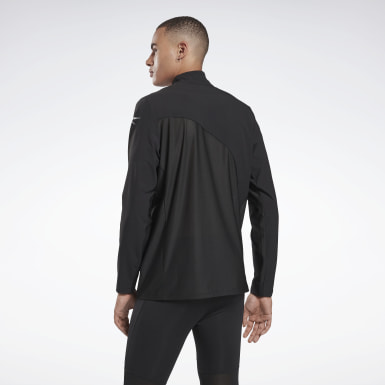 Männer Running One Series Running Hero Jacket Schwarz