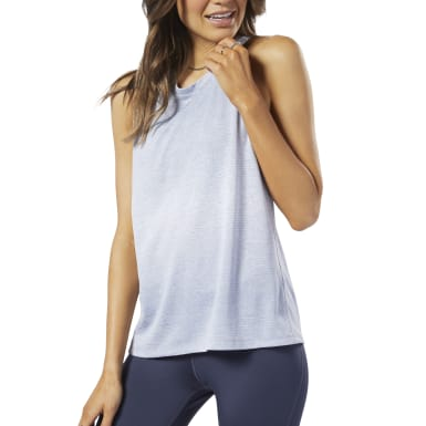 Musculosa One Series Running Knit Violeta Mujer Running
