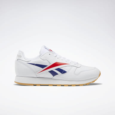 Men Classics White Classic Leather Vector Shoes