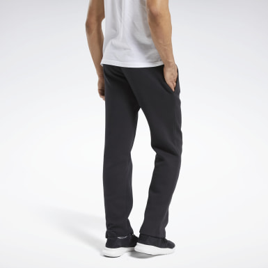 Pantaloni Training Essentials Fleece Nero Uomo Fitness & Training