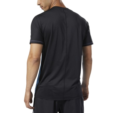 Remera One Series Training SmartVent Move Azul Hombre Entrenamiento Funcional