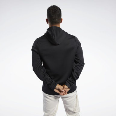 Men Outdoor Black Speedwick Hoodie