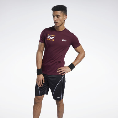 Men Training Burgundy MYT Graphic Tee