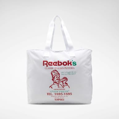 Classics White Classics Graphic Food Tote