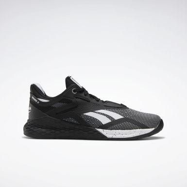 Women Cross Training Black Reebok Nano X Shoes