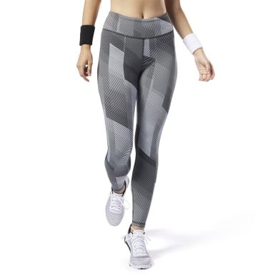 Women Training Black Reebok Lux Tights 2.0
