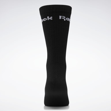 Yoga White Active Core Crew Socks 3 Pairs