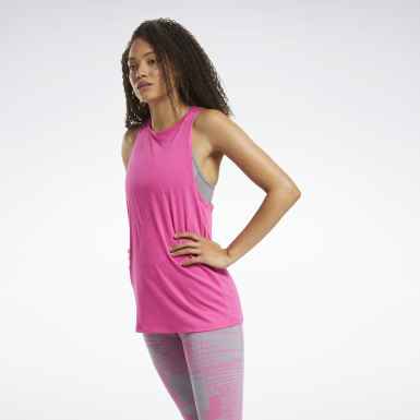 Women Yoga Burnout Tank Top