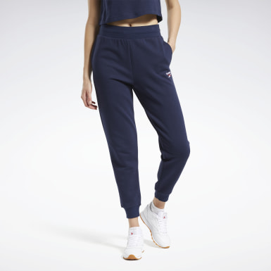 Frauen Classics Classics French Terry Pants Blau
