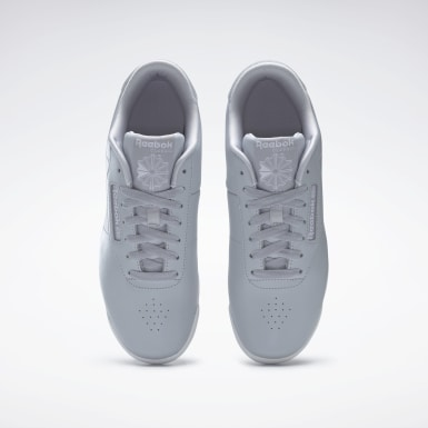 Women Classics Grey Princess Leather