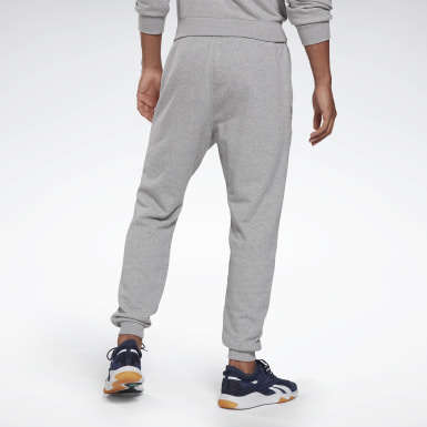 Men Fitness & Training Grey Reebok Identity Big Logo Joggers