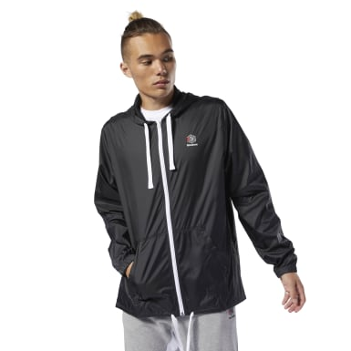 Men Classics Black Classics Windbreaker