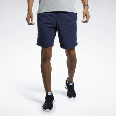 Men Training Blue Training Essentials Utility Shorts