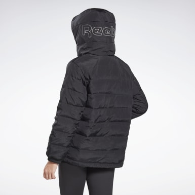 Giacca Outerwear Light Down Retro Nero Donna Hiking