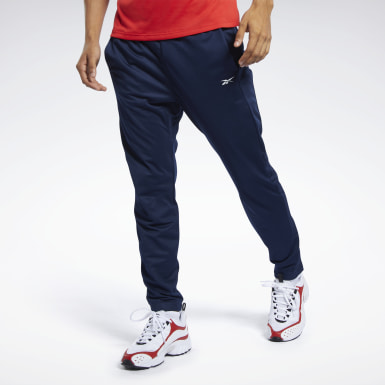 Pantalones Trackster Workout Ready Azul Hombre Fitness & Training