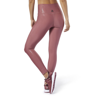 Women Studio Pink Studio Lux Metallic Tights