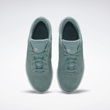 Women Classics Green Club C 85 Women's Shoes