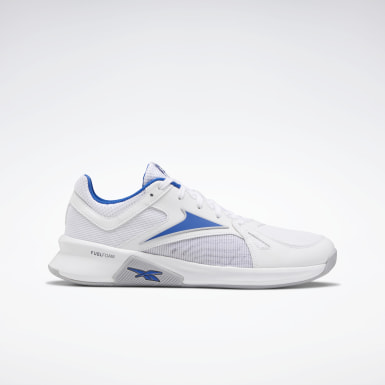 Men Fitness & Training White Advanced Trainer Men's Training Shoes