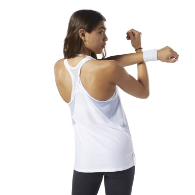 Women Training White SmartVent Tank Top