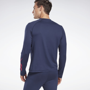 Camiseta Thermowarm Touch Graphic Base Layer Azul Hombre Senderismo