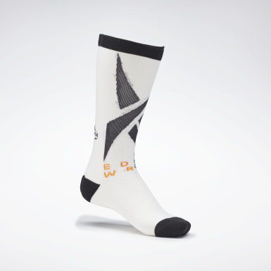 Fitness & Training White Edgewrk Crew Socks