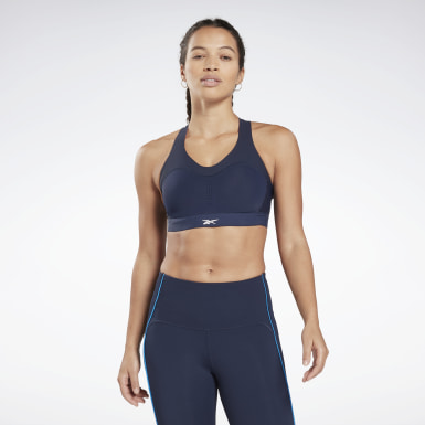 Women Studio Blue Reebok PureMove Bra