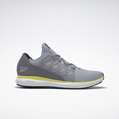 Men Running Grey Reebok Driftium Ride 2.0 Shoes