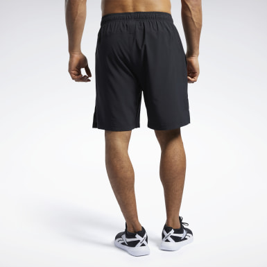Mænd Cross Training Black Reebok CrossFit® Austin II Solid Shorts