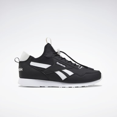 Women Classics Black Reebok Royal Glide AC Shoes