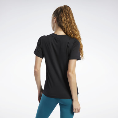 Women Fitness & Training Black Training Essentials Easy Tee
